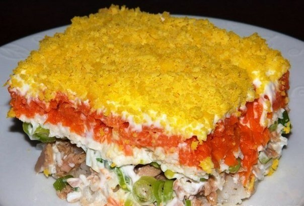 Мимоза салат рецепты
