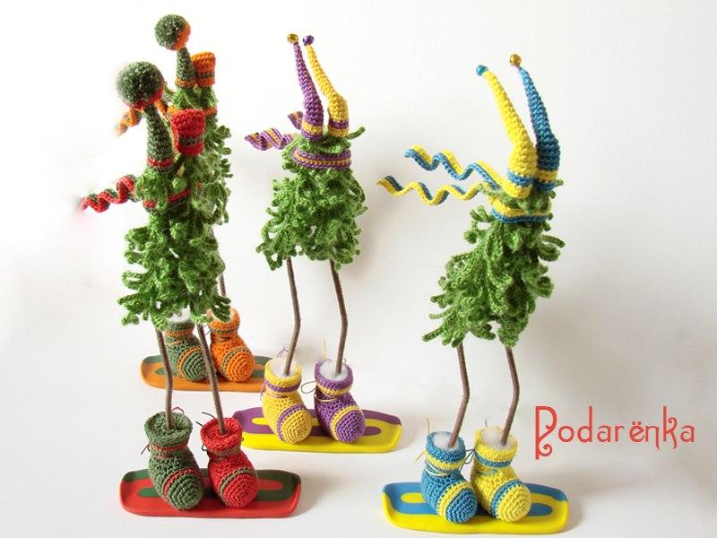 Креативные игрушки своими руками на елку