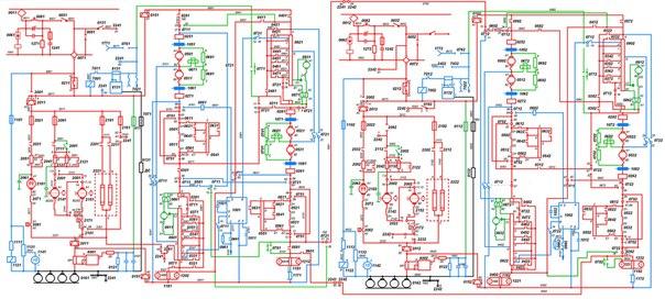 Силовая схема электровоза ЧС7