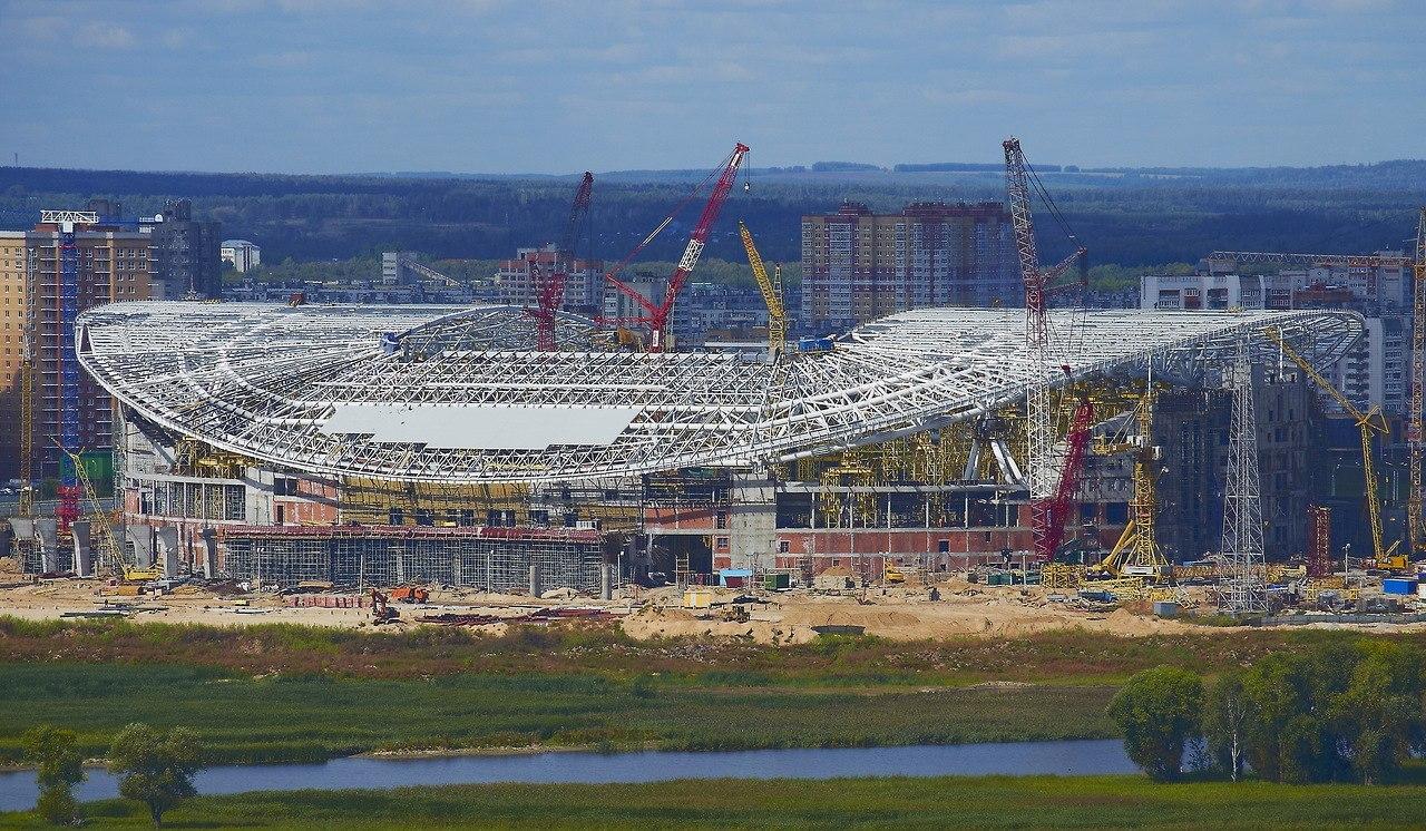 Стадион «Казань-Арена»: обязательно-принудительная стройка