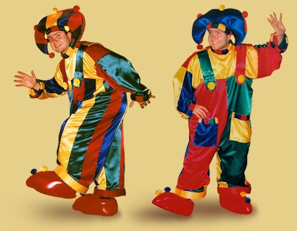 Как сделать костюм клоуна видео