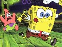 Патрик и Спанч Боб.