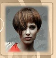 Стильная стрижка каскад на короткие волосы украсит вашу прическу...