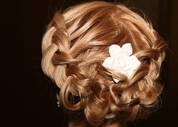 Наращивание бисером на волосы