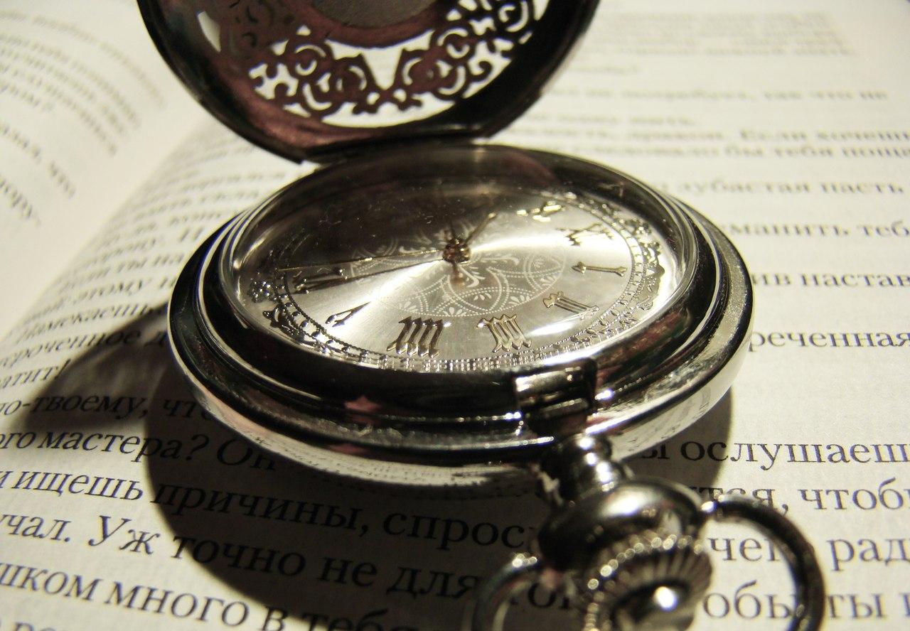 Карманные часы №3 - Часы с арабесками