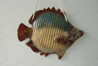 Декоративные рыбы из керамики
