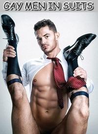 Трах геев в костюмах фото 724-821