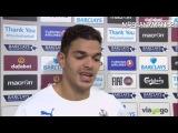 Aston Villa 1-2 Newcastle - Hatem Ben Arfa Post Match Interview