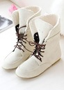Женская обувь - Ботинки на шнурках 7046 в Красноярске.