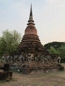 Wat Chang Lom, Сукотаи
