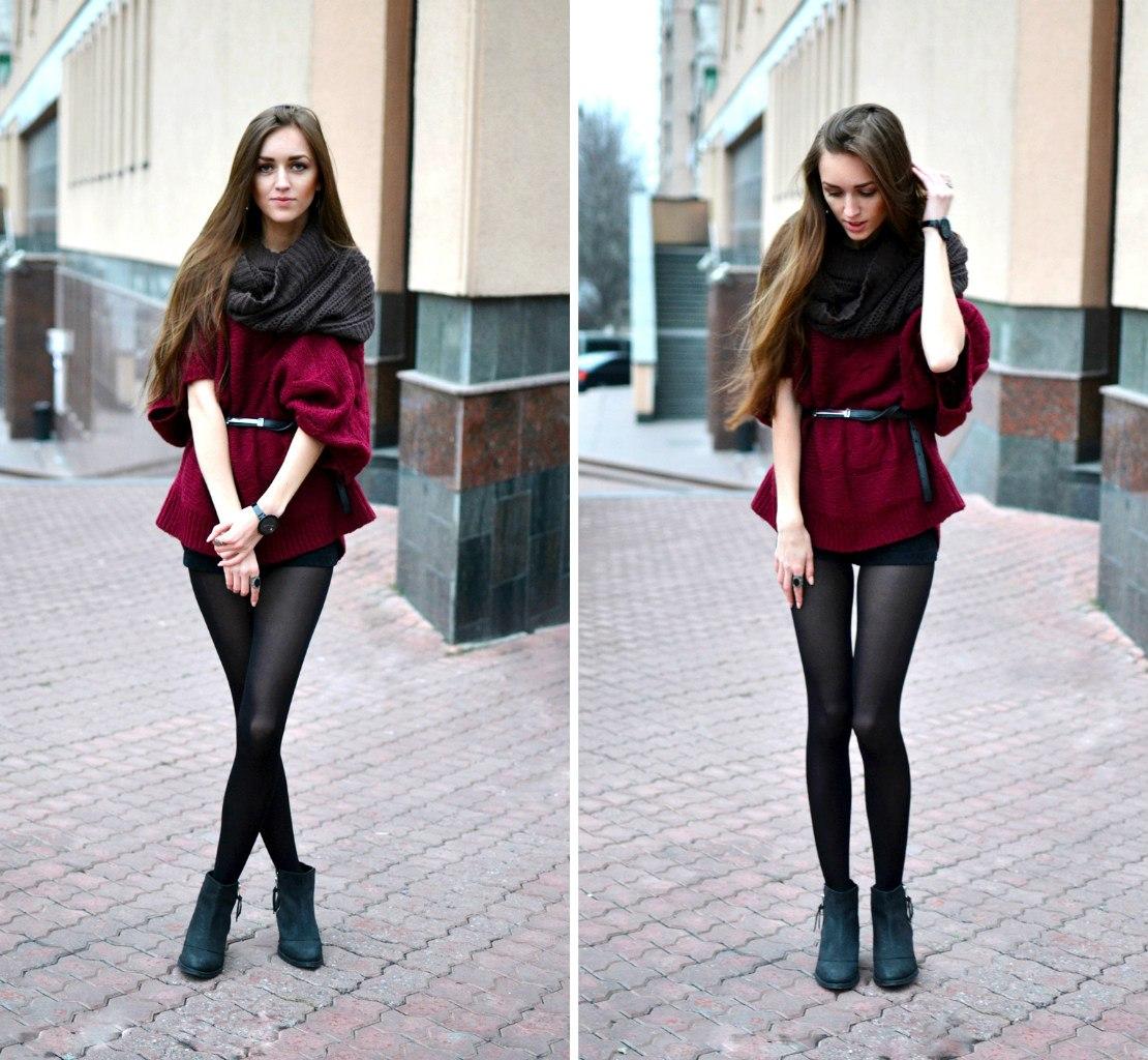 Простые девушки одетые фото