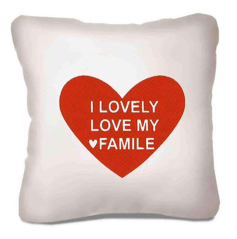Фото с надписью я люблю свою семью, оригинальная