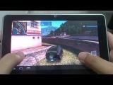 Играем на китайском планшете Amoi Q50 HD в Wild Blood, Gangstar Rio и GTA Vice City