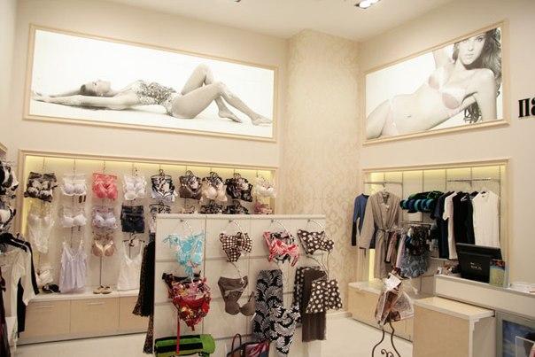 Магазин белья дизайн