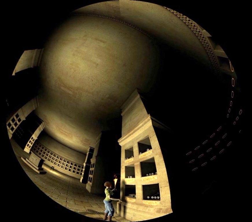 Затерянный храм в донецком планетарии