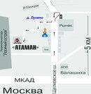 До станции метро Щелковская, далее в сторону области на автобусе 396 или маршрутном такси 396, 447, 361...