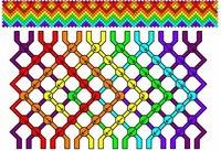 24 мар 2012 Схемы плетения фенечек из мулине, узлы, уроки . на видео ниже), которое предполагает плетение разных...
