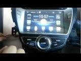 Магнитола для Hyundai Elantra, Avante на Андроиде