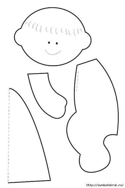 Кукла-ребенок своими руками выкройки