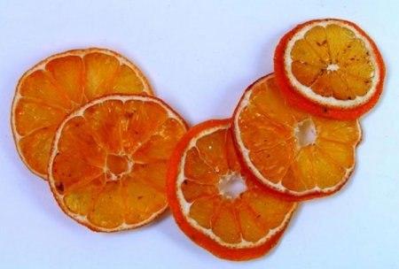 Rožės iš apelsino žievelės