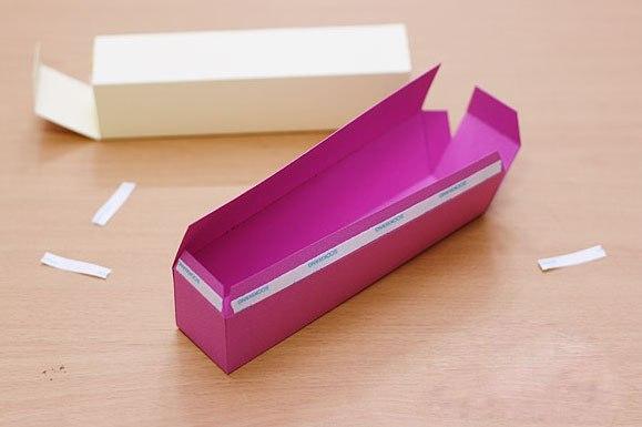 Подарочная коробка для ручки своими руками
