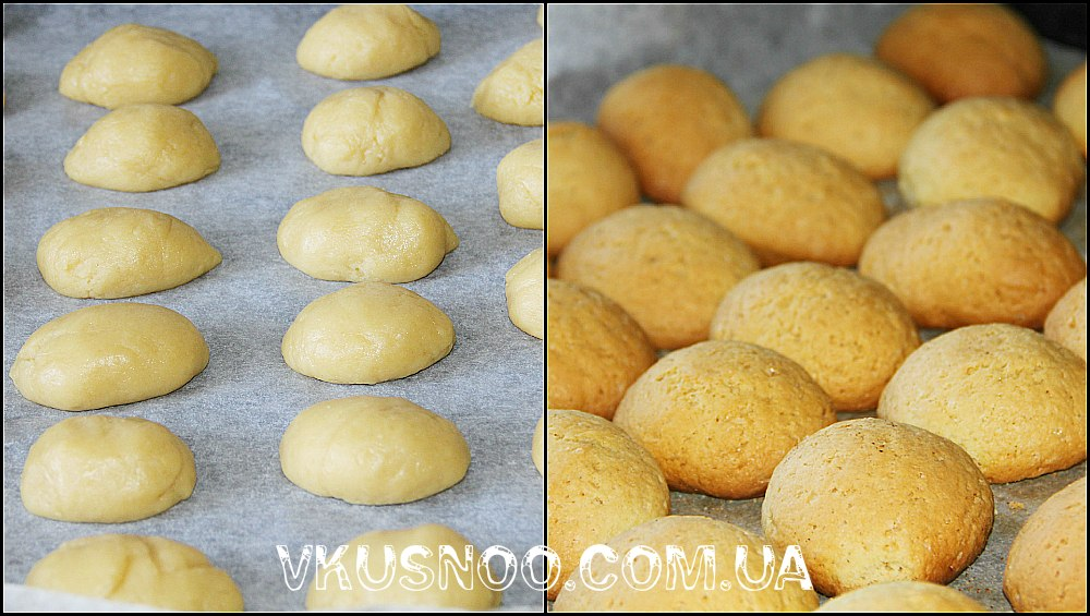 Как сделать персики печенья