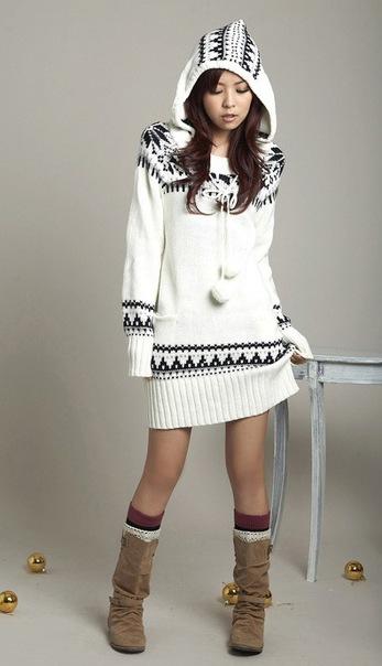 вязаных кофт и пуловеров
