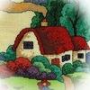 Кузькин дом. Вязание: варежки и митенки