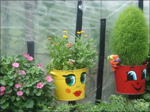 Разные поделки для сада огорода своими руками