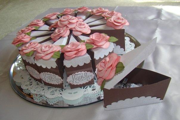 Подарочный торт своими руками