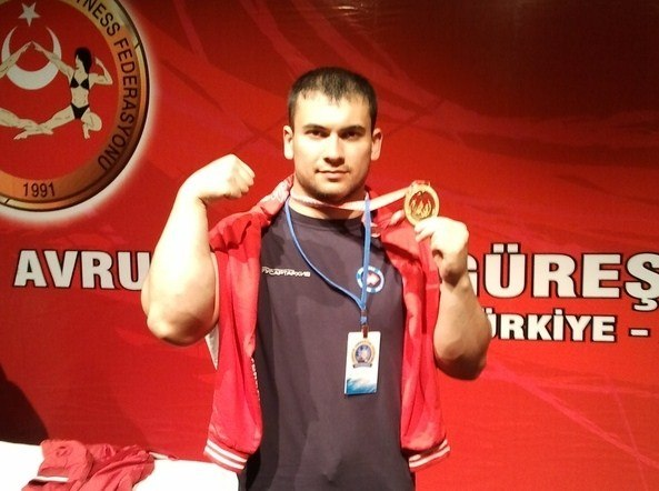 Arsen Liliev - European Armwrestling Champion, Turkey