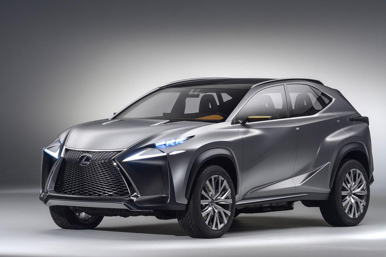 Lexus LF-NX концепция кроссовера будущего