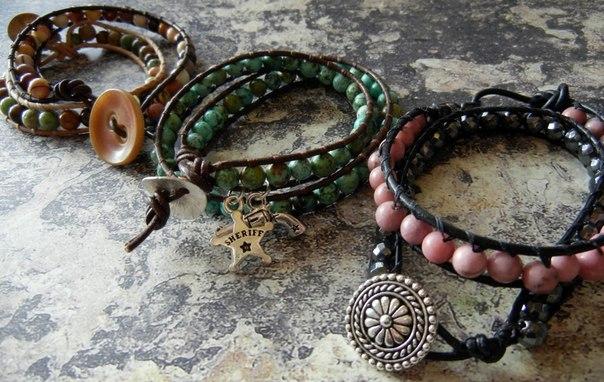 Популярные браслеты своими руками