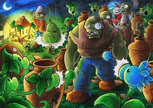 Игра Растения против Зомби 2 / Plants VS Zombie 2