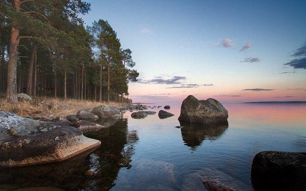 Онежское озеро, Карелия. Автор фото – Любовь Трифонова.