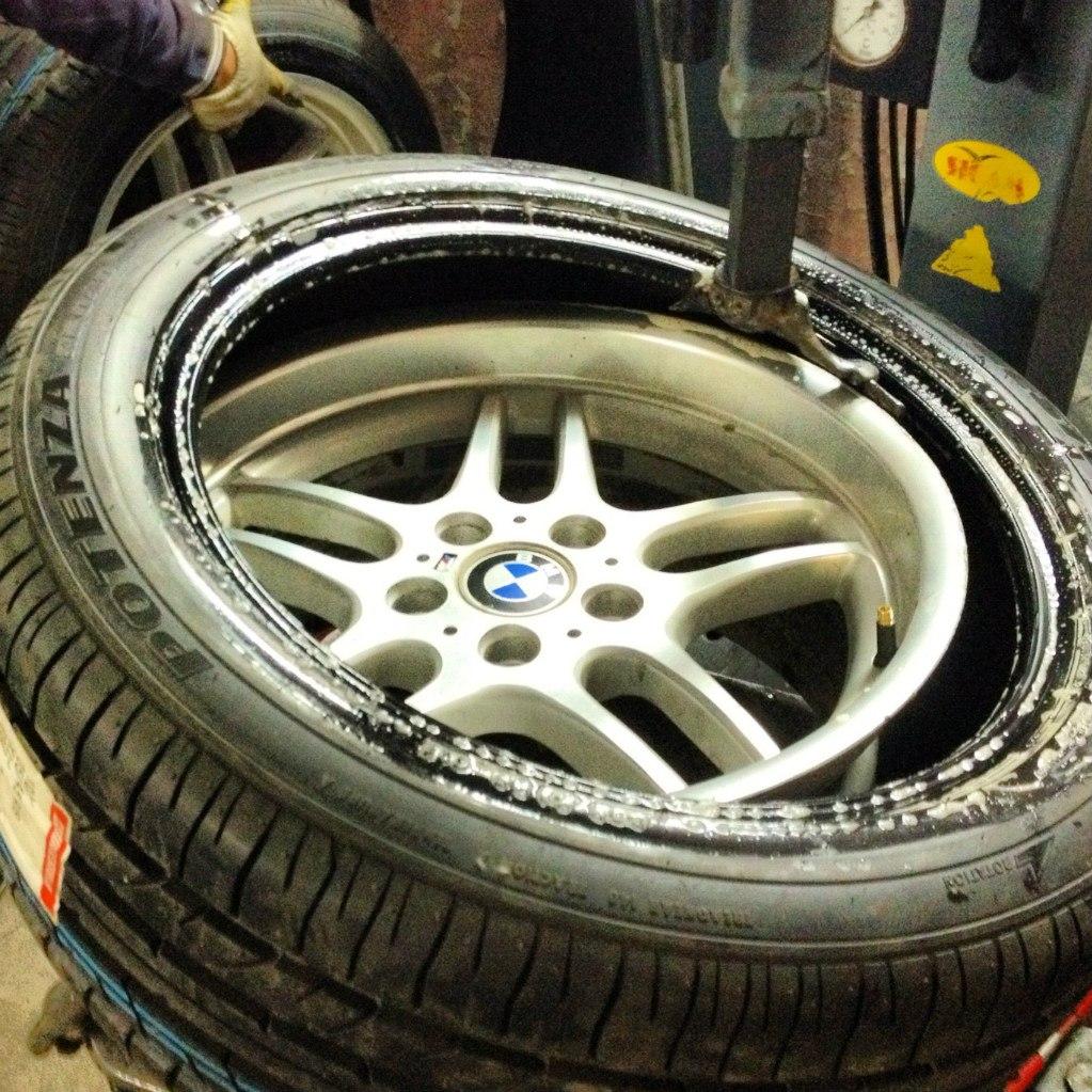 замена патрубки системы охлаждения BMW e60