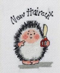 Скачать схему вышивки ёжика с ножницами от Маргарет Шерри.  Много схем снежинок в этом посте.