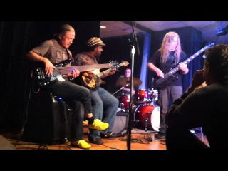 Alex Webster Berklee Clinic Jam with Victor Wooten and Steve Bailey