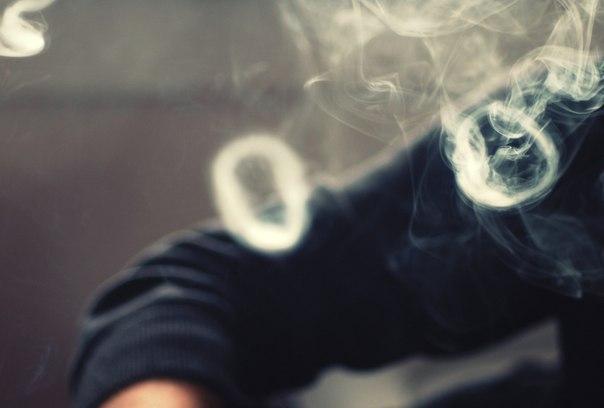 Как сделать из дыма колечки