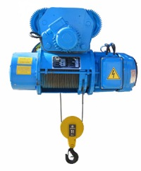 Электротельфер используется для подъема, опускания и перемещения различных грузов по монорельсовому пути(балке).
