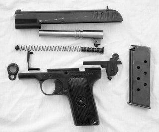 Пистолет ТТ был создан конструкторской группой под управлением Федора Васильевича Токарева в проектно.
