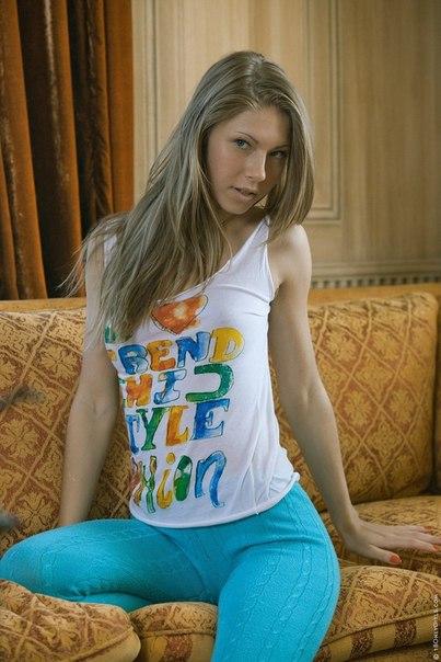 Der Russenteenie Gina Gerson