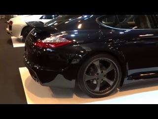 Porsche Boxster и Porsche Panamera Turbo GRAND GT TECHART