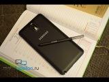 Распаковка Samsung Galaxy Note 3 в черном цвете (unboxing)