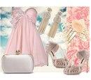 Романтичное Нежно-Розовое Платье С Открытой Спиной В Самаре