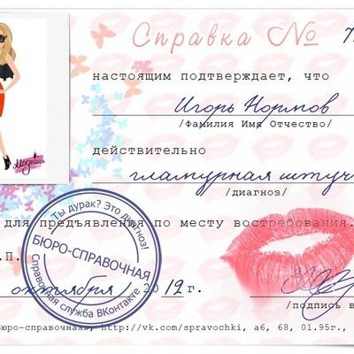 Игорь Нормов, 14 ноября , Ногинск, id178175124
