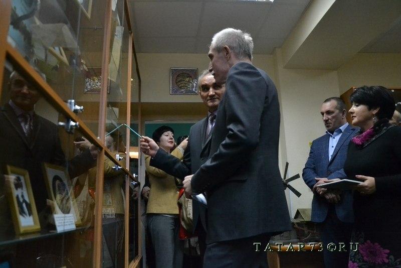 Сергей Морозов и Рамис Сафин в музее Центра татарской культуры