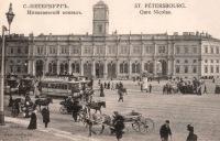 Московский вокзал.  Мы считаем, что снимок сделан между 1900-1907 годами. направление съемки - юг).