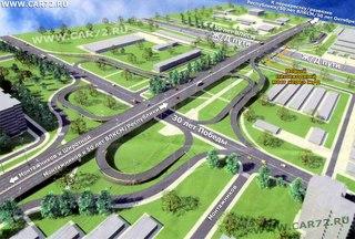 Путепровод соединит улицу Республики и Восточную часть города.  Путепровод начнется в районе улицы 50 лет ВЛКСМ и...