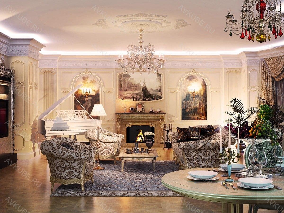 Дизайн квартир в арт деко